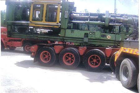 Remoções de Máquinas Industriais