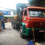 Empresa de caminhão Munck