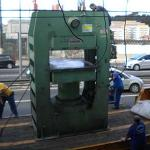 Movimentação de máquinas