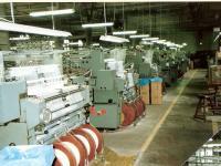 Transporte de máquinas têxteis
